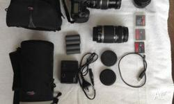Excellent condition, hardly used Cannon EOS 40D Camera
