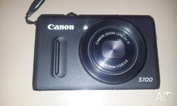 Selling an almost new Cannon S100 Digital Camera. The