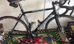 Size 52cm Cannondale 6-13. Frame is combination of