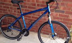 Great bike in top condition. Front suspension.