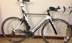 Never been used brand new Cannondale Slice TT.
