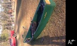 Canoe with outriggers,2 seater Kingfisher brand Good