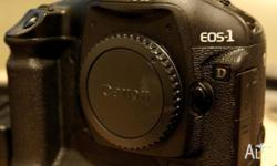 This listing is for a Canon 1D Mark 3 body. In good