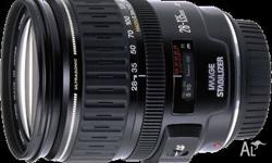 Up for grabs is my much-loved Canon 28-135mm f3.5-5.6