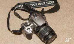 **SOLD PENDING PICKUP** For sale is this Canon 350D in