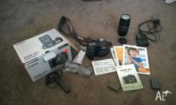 Cannon 40 D camera with lots of extras for sale. Cannon