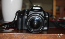 hi Canon 450d used in very good condition included with