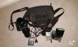I am selling my Canon 500D with few additional