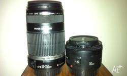 Hi, I have the below two lenses for sale. Both the