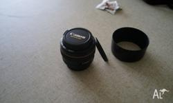 I bought this lens one year ago and the condition is