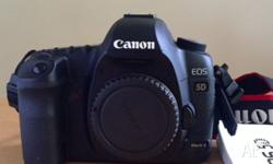 Canon 5D mark II (body only) in excellent condition.