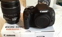 Hi, Canon 600d like new, no mark on it, around 5000