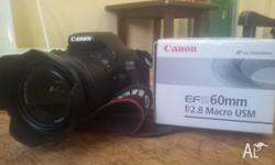 Hey everybody, I'm selling my canon 600D in mint