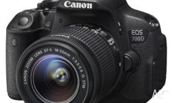 This Canon 700D and the 18-55mm kit lens is Australian