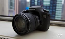 I am selling my Canon 7D, a Canon 18-55mm lens, one