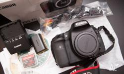 Canon 7D body, no dents, in great condition. comes with