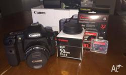 Up for sale is my Canon 7D DSLR - Reason for sale is
