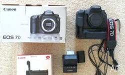 Selling Canon 7d Includes: Canon 7d body Genuine Canon