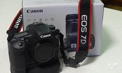 This Canon 7D with Canon BG E7 grip is in as new