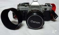 CANON AE-1 SLR FILM CAMERA Excellent Condition &