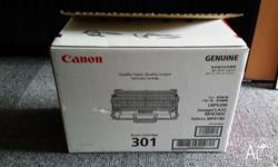 I have a genuine Canon 301 drum cartridge for sale.