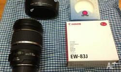 I'm selling my much loved Canon EF-S 17-55mm f/2.8 IS