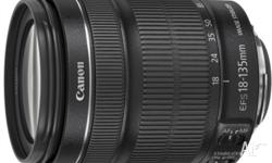 Canon EF-S 18-135mm f/3.5-5.6 IS STM Camera Lens