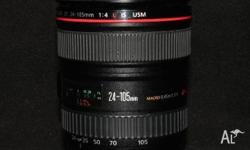 Canon EF 24-105mm f/4 L IS USM Lens For sale is this