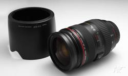 This is a fantastic lens. It is a professional L-series