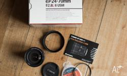 Hi there, I'm selling my 24 - 70mm lens (the most