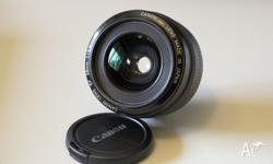 Selling my used Canon EF 28mm Lens which was made in