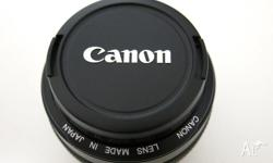 Canon EF 50mm f/1.4 USM Lens in excellent condition -