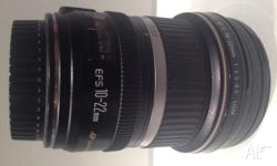 Canon wide angle lense - hardly used. Only selling