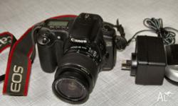 Canon EOS 20D A nicely designed dSLR with class-leading