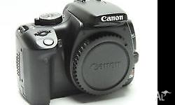 Canon EOS 400D in brilliant condition with updated in