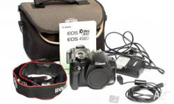 Used Canon 450D DSLR in very good condition. This