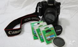 4 year old Canon EOS 450D Digital SLR camera body
