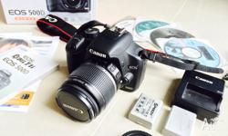 Priced for quick sale! CANON EOS 500D with 18-55 IS