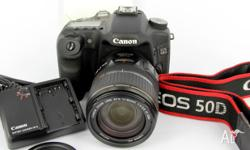 Ex Queensland Government Cameras. Canon EOS 50D Body &