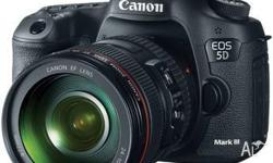 Canon 5D Mark III Body with all accessories: Eye cup