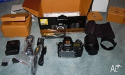 Nikon D7000 Digital SLR Camera & 18-105mm VR Dx AF-S