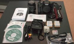 I am selling a Canon EOS 600D with the 18-55mm kit