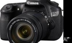 With the EOS 60D DSLR, Canon gives the photo enthusiast