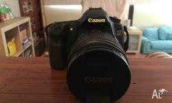 Hi! I'm selling my as brand new Canon EOS 60D w/