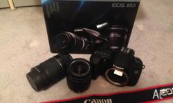 Canon EOS 60D Includes: Digital SLR Camera EOS 60D EF-S