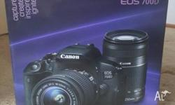 Canon EOS 700d camera in GREAT condition What is