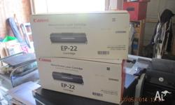 For sale 2 genuine unopened Canon EP-22 Toner