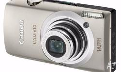 Canon IXUS 210 Digital Camera - 14.1 megapixels,
