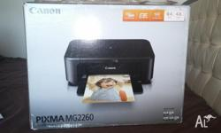 This canon pixma mg2260 printer is in perferc working