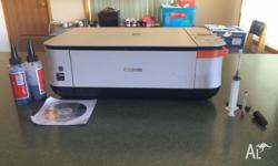 Good condition printer with new colour cartridge and